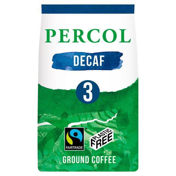 Coffee Ground Decaffeinated dairy free, Vegan, FairTrade