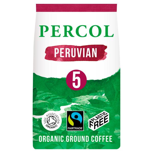 Ground Coffee Peruvian Vegan, FairTrade, ORGANIC