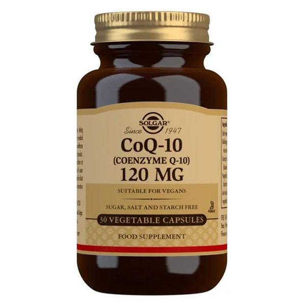 Coenzyme Q10 120mg dairy free, Gluten Free, Vegan