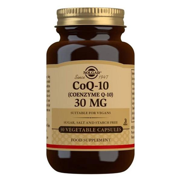 Coenzyme Q10 30mg dairy free, Gluten Free, Vegan