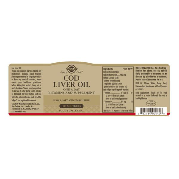 One-a-Day Cod Liver Oil  image 2
