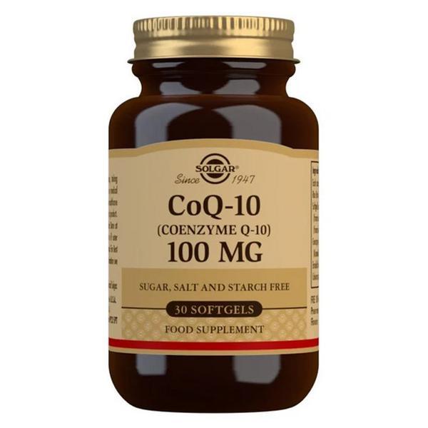 Coenzyme Q10 100mg Gluten Free