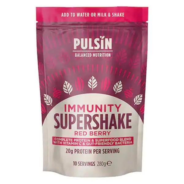 Immune Red Berry Supershake Gluten Free, GMO free, Vegan