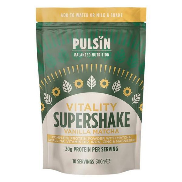 Vitality Vanilla & Matcha Supershake Vegan