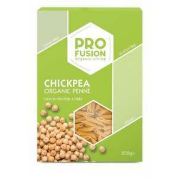 Chickpea Flax Penne Pasta Gluten Free, ORGANIC