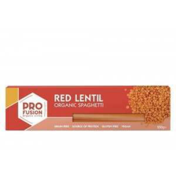 Red Lentil Spaghetti Gluten Free, Vegan, ORGANIC