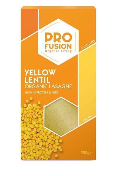Yellow Lentil Lasagne Pasta Gluten Free, Vegan, ORGANIC