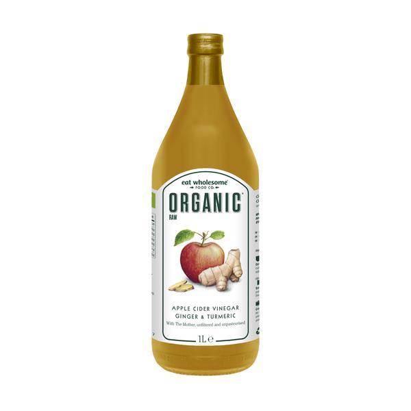 Ginger & Turmeric Apple Cider Vinegar Vegan, ORGANIC