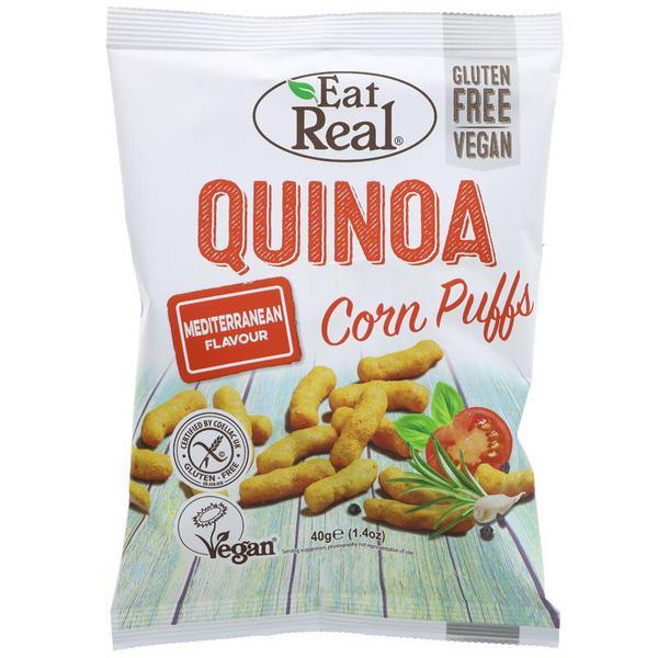 Mediterranean Puffs Quinoa Gluten Free, Vegan
