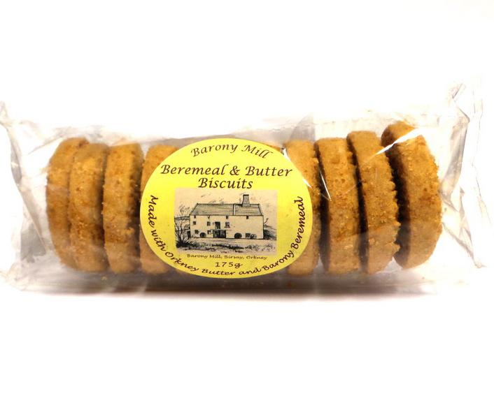 Beremeal Butter Biscuits