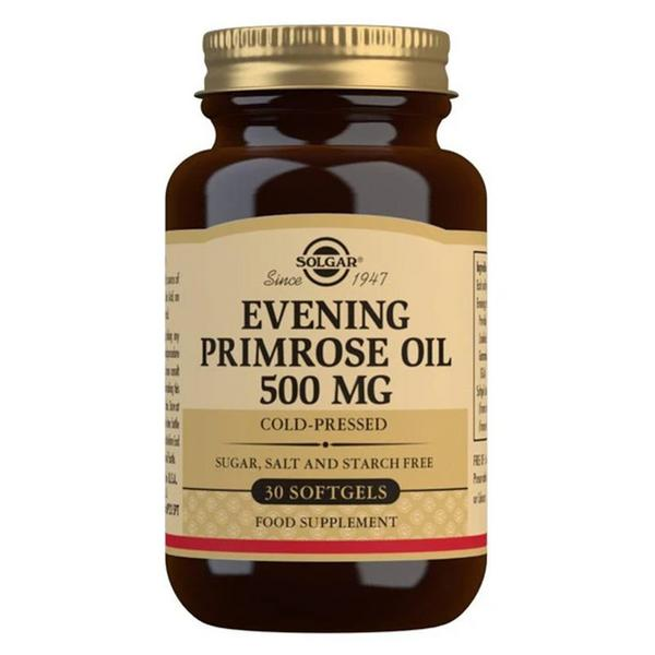 Evening Primrose Oil Essential Fatty Acid 500mg dairy free, Gluten Free