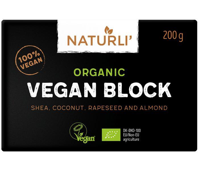 Plant Based Butter Block Vegan, ORGANIC