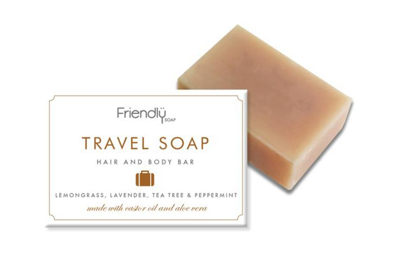 3 in 1 Travel Shampoo Soap & Deodorant Vegan