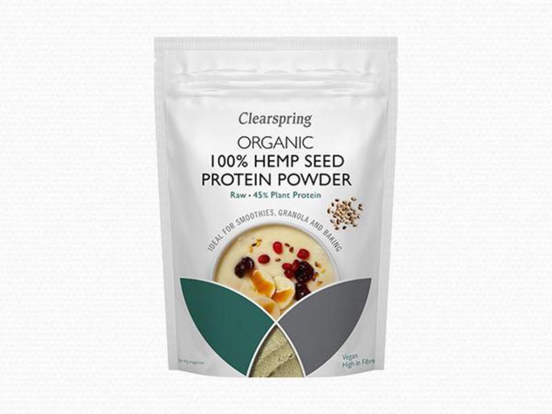 Raw Hemp Protein Powder Vegan, ORGANIC