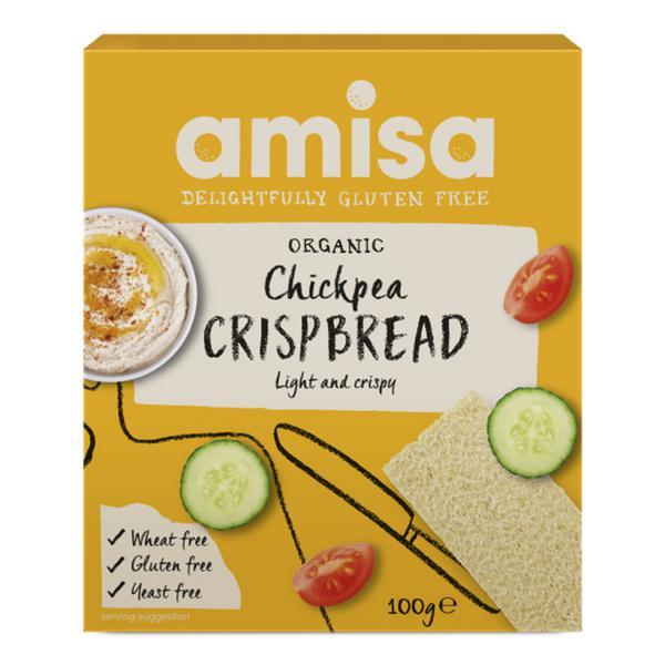Chickpea Crispbreads Gluten Free