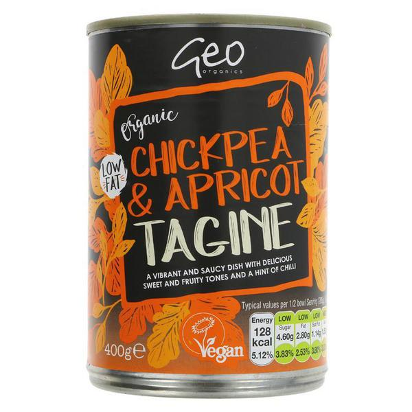 Tagine Chickpea & Apricot Ready Meal Vegan, ORGANIC