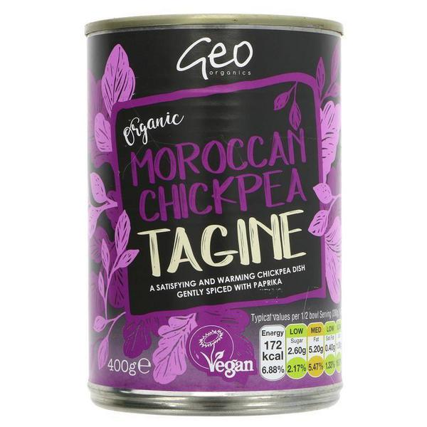 Tagine Moroccan Chickpea Ready Meal Vegan, ORGANIC