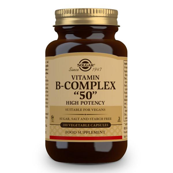 Vitamin B Formula B-50 dairy free, Gluten Free, Vegan