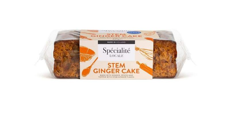 Stem Ginger Spice Cake Vegan