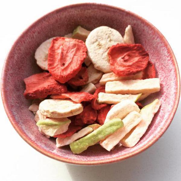 Freeze Dried Fruit Salad Snack Vegan image 2