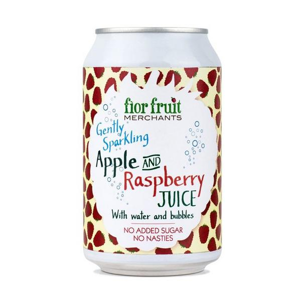 Sparkling Apple & Raspberry Juice