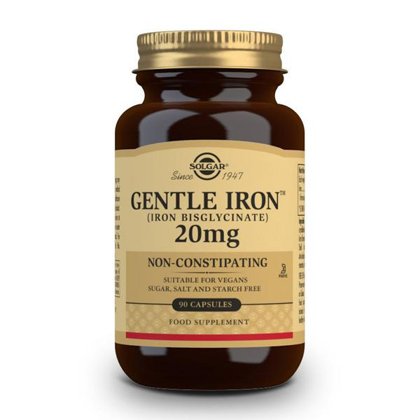 Gentle Iron Mineral 20mg