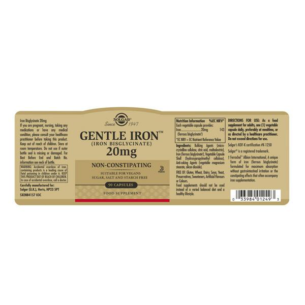Gentle Iron Mineral 20mg  image 2
