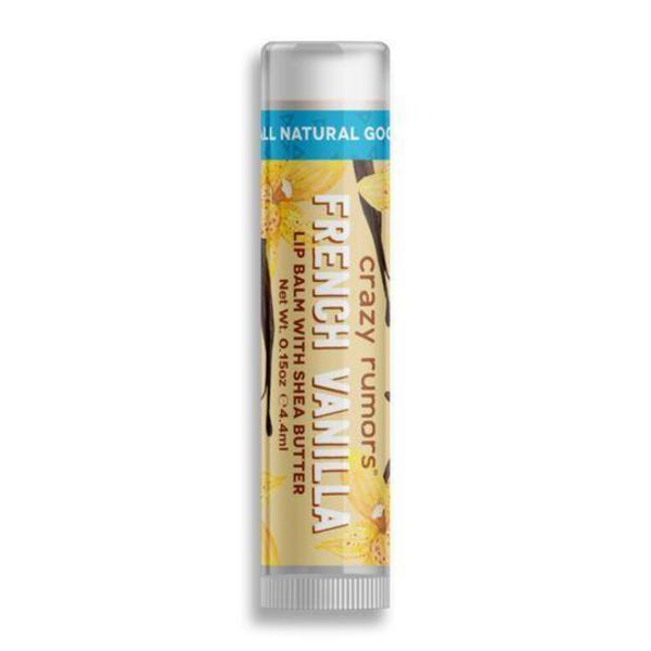 French Vanilla Lip Balm Vegan, ORGANIC