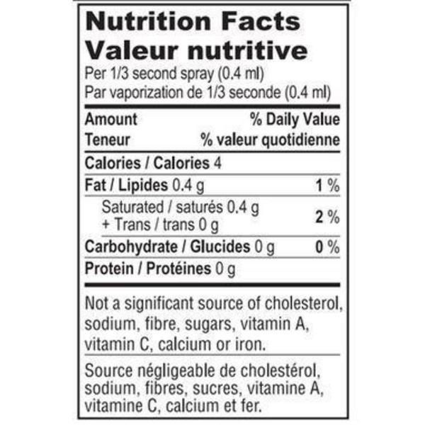 Coconut Oil Spray dairy free, Gluten Free, Vegan, ORGANIC image 2