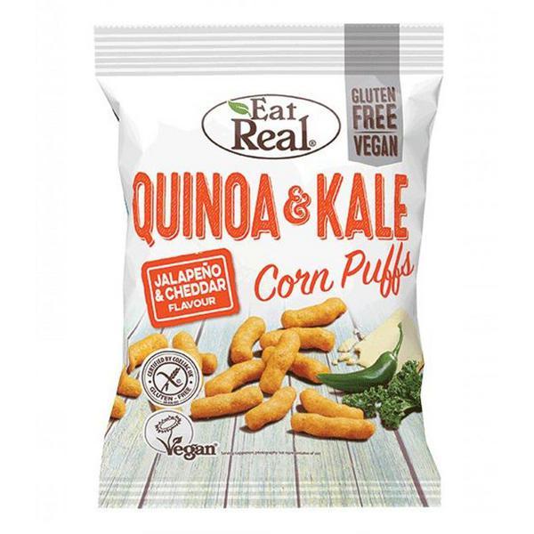 White Cheddar & Jalapeno Quinoa Kale Puffs