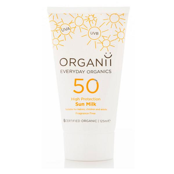 Sun Milk Sunscreen SPF50 Vegan, ORGANIC