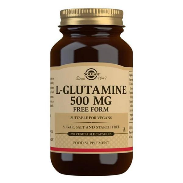 Amino Acid L-Glutamine 500mg Vegan