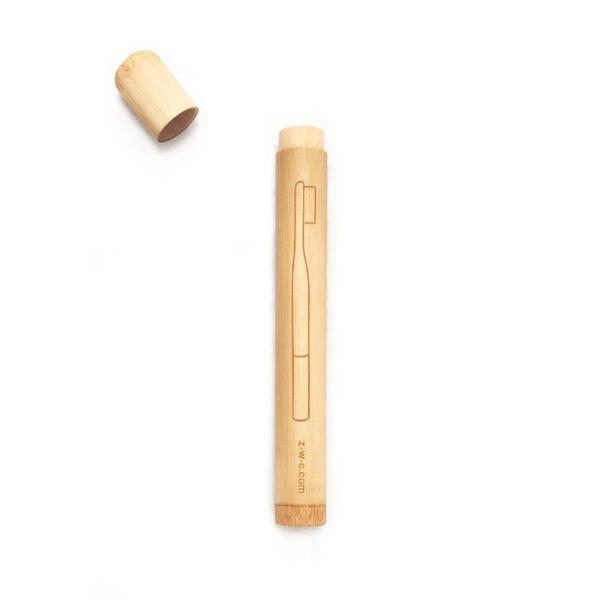 Bamboo Toothbrush Case  image 2