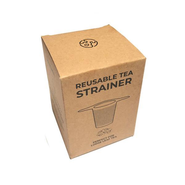 Stainless Steel Tea Strainer Vegan image 2