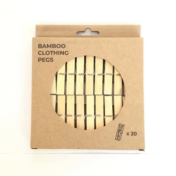 Bamboo Pegs Vegan