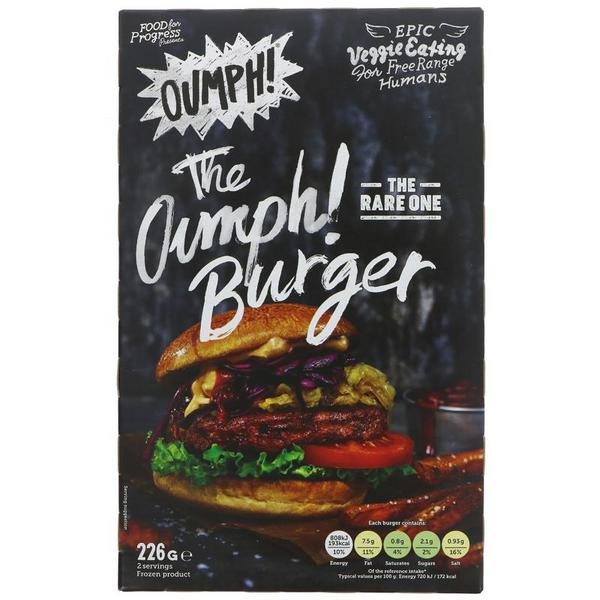 2-pack Burger dairy free, Vegan