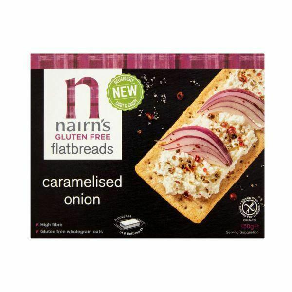 Caramelised Onion Flatbread Gluten Free