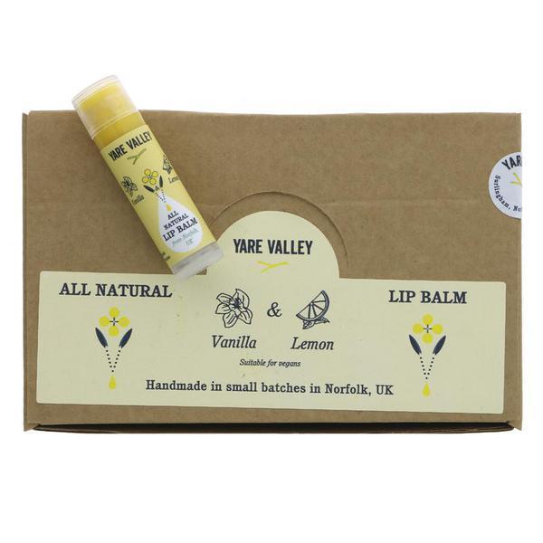 Vanilla & Lemon Lip Balm Stick