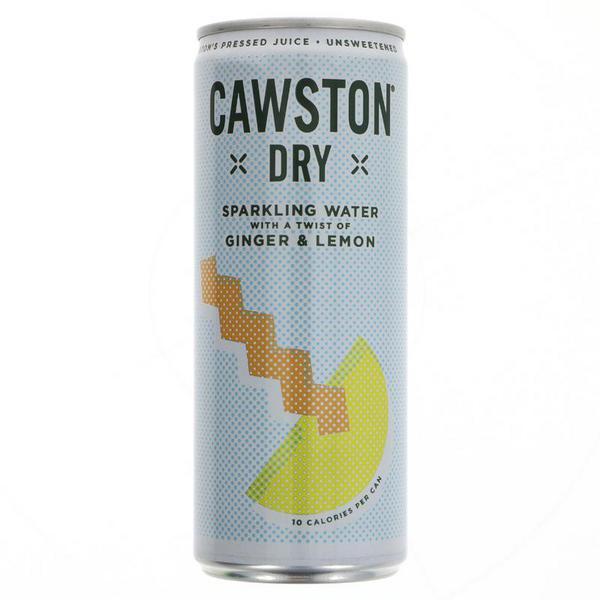 Dry Ginger & Lemon Drink