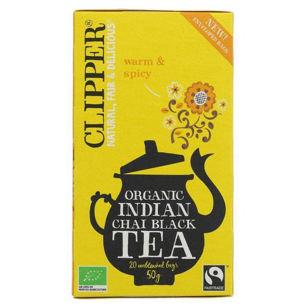 Indian Chai Black Tea FairTrade, ORGANIC
