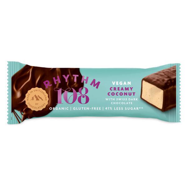 Super Coconut Swiss Dark Chocolate Bar Vegan, ORGANIC