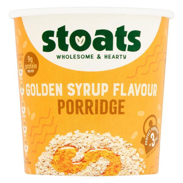 Golden Syrup Porridge Pot