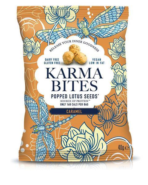 Caramel Popped Lotus Seeds dairy free, Gluten Free, wheat free, ORGANIC