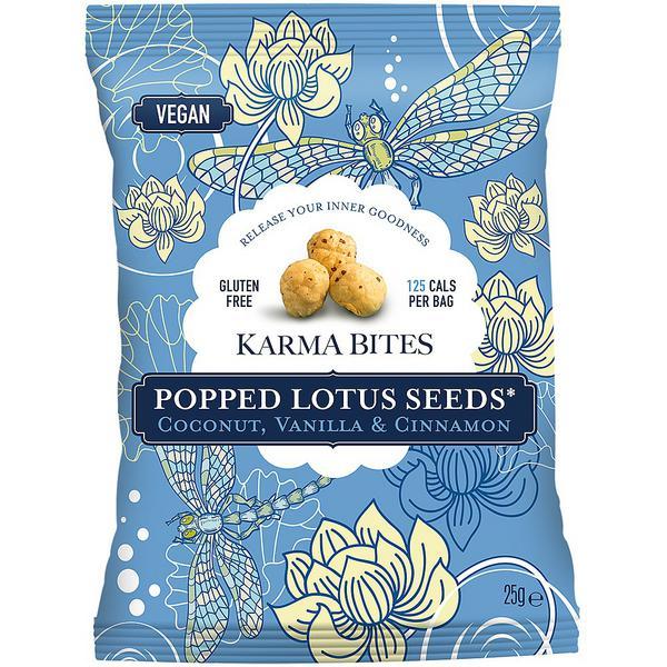 Coconut & Vanilla Popped Lotus Seeds