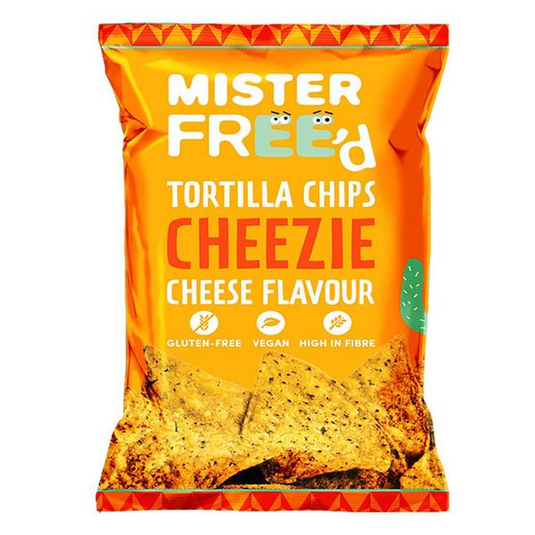 Cheese Tortilla Chips dairy free, Gluten Free, Vegan