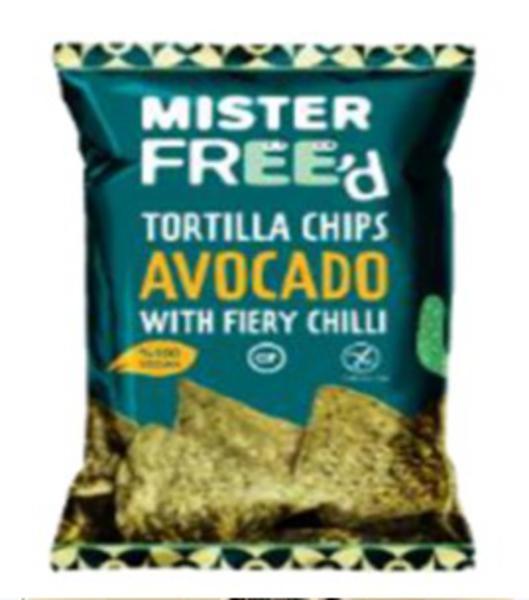 Avocado & Chilli Tortilla Chips Gluten Free