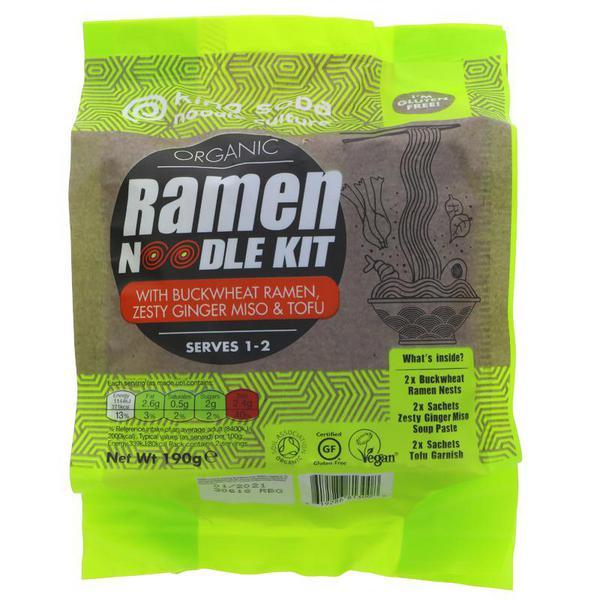 Buckwheat Ramen Noodles Kit Gluten Free