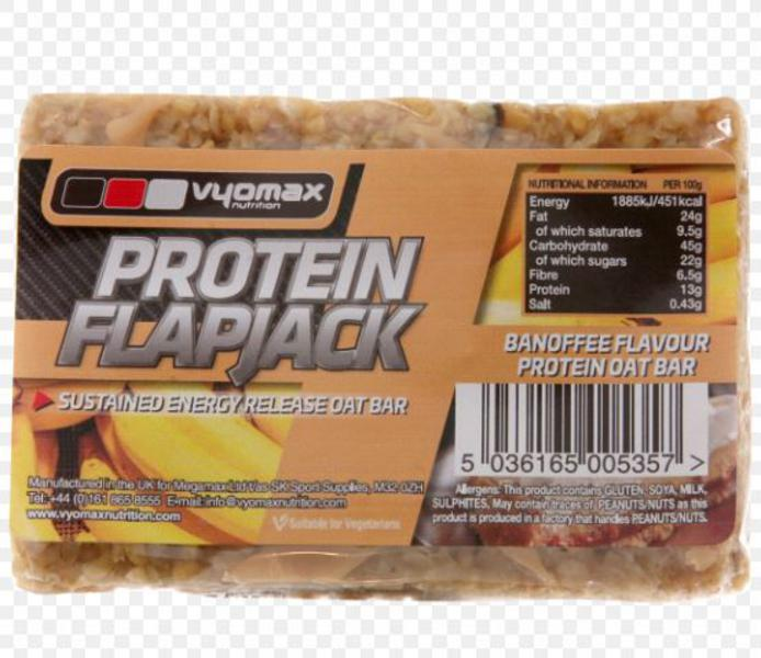 Banoffee Protein Flapjack