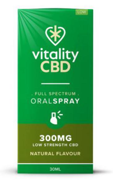 300mg Natural CBD Oral Spray