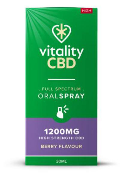 1200mg Berry CBD Oral Spray